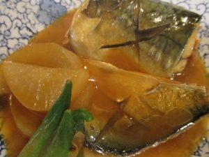 秋の気配「サバの味噌煮」を~