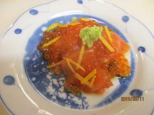 秋鮭で「ルイベ」を作って~
