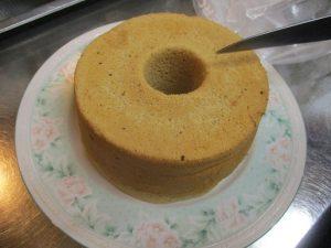 三温糖を使った「美味しいケーキ」で一服~